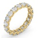 Mens 3ct G/Vs Diamond 18K Gold Full Band Ring  IHG34-522XUA - image 2