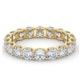Mens 3ct H/Si Diamond 18K Gold Full Band Ring  IHG34-522JUA - image 3