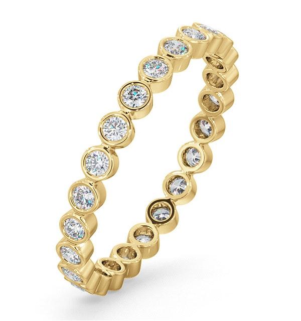 Eternity Ring Emily 18K Gold Diamond 0.50ct G/Vs - image 1