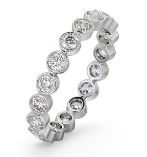 Eternity Ring Emily Platinum Diamond 1.00ct H/Si