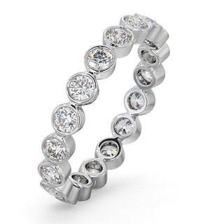 Eternity Ring Emily 18K White Gold Diamond 1.00ct G/Vs
