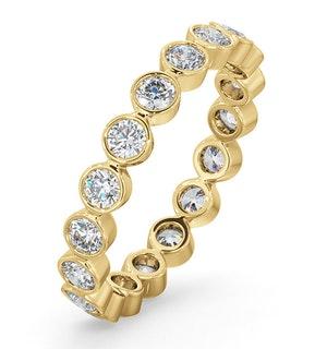 Eternity Ring Emily 18K Gold Diamond 1.00ct G/Vs