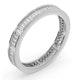Eternity Ring Grace Platinum Diamond 1.00ct H/Si - image 2