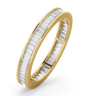 Eternity Ring Grace 18K Gold Diamond 1.00ct G/Vs