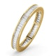 Mens 1ct H/Si Diamond 18K Gold Full Band Ring  IHG45-322JUA - image 1