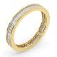 Mens 1ct H/Si Diamond 18K Gold Full Band Ring  IHG45-322JUA - image 2