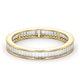 Mens 1ct H/Si Diamond 18K Gold Full Band Ring  IHG45-322JUA - image 3