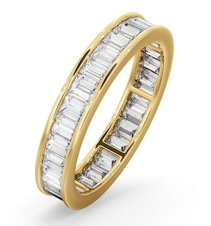 Eternity Ring Grace 18K Gold Diamond 1.50ct G/Vs