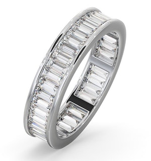 Eternity Ring Grace Platinum Diamond 2.00ct G/Vs