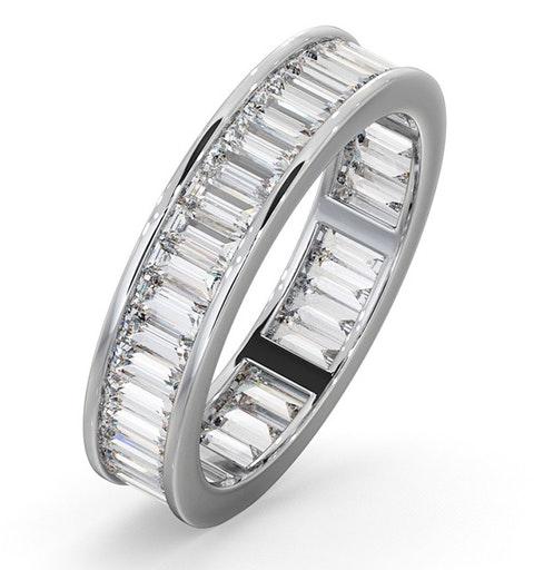 Eternity Ring Grace Platinum Diamond 2.00ct H/Si - image 1