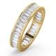 Mens 2ct H/Si Diamond 18K Gold Full Band Ring  IHG45-422JUA - image 1