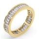 Mens 2ct H/Si Diamond 18K Gold Full Band Ring  IHG45-422JUA - image 2