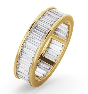 Eternity Ring Grace 18K Gold Diamond 3.00ct G/Vs