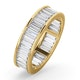 Mens 3ct H/Si Diamond 18K Gold Full Band Ring - image 1