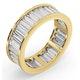 Mens 5ct G/Vs Diamond 18K Gold Full Band Ring  IHG45-722XUA - image 2
