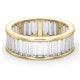 Mens 5ct G/Vs Diamond 18K Gold Full Band Ring  IHG45-722XUA - image 3