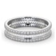 Eternity Ring Katie Platinum Diamond 1.00ct H/Si - image 3