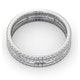 Eternity Ring Katie Platinum Diamond 1.00ct H/Si - image 4