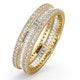 Eternity Ring Katie 18K Gold Diamond 1.00ct G/Vs - image 1