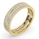 Eternity Ring Katie 18K Gold Diamond 1.00ct G/Vs - image 2
