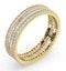 Eternity Ring Katie 18K Gold Diamond 1.00ct H/Si - image 2