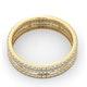 Eternity Ring Katie 18K Gold Diamond 1.00ct G/Vs - image 4