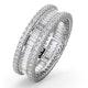 Eternity Ring Katie 18K White Gold Diamond 2.00ct G/Vs - image 1