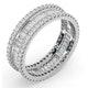 Eternity Ring Katie 18K White Gold Diamond 2.00ct G/Vs - image 2