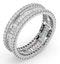 Eternity Ring Katie 18K White Gold Diamond 2.00ct H/Si - image 2