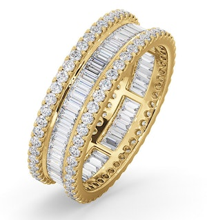 Eternity Ring Katie 18K Gold Diamond 2.00ct H/Si
