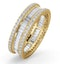 Eternity Ring Katie 18K Gold Diamond 2.00ct H/Si - image 1