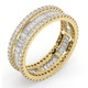 Eternity Ring Katie 18K Gold Diamond 2.00ct H/Si - image 2