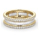 Eternity Ring Katie 18K Gold Diamond 2.00ct H/Si - image 3