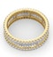 Eternity Ring Katie 18K Gold Diamond 2.00ct H/Si - image 4