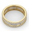 Eternity Ring Katie 18K Gold Diamond 2.00ct H/Si - image 4
