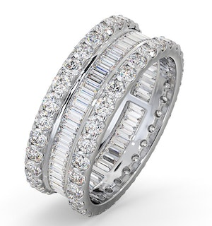 Eternity Ring Katie Platinum Diamond 3.00ct G/Vs