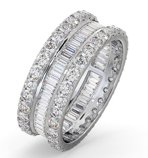 Eternity Ring Katie Platinum Diamond 3.00ct H/Si