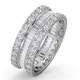 Eternity Ring Katie 18K White Gold Diamond 3.00ct G/Vs - image 1