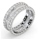 Eternity Ring Katie 18K White Gold Diamond 3.00ct G/Vs - image 2