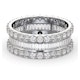 Eternity Ring Katie 18K White Gold Diamond 3.00ct G/Vs - image 3
