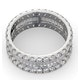 Eternity Ring Katie Platinum Diamond 3.00ct H/Si - image 4