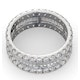 Eternity Ring Katie 18K White Gold Diamond 3.00ct G/Vs - image 4