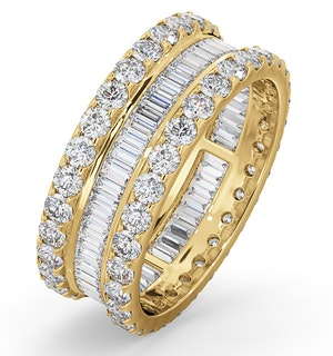 Eternity Ring Katie 18K Gold Diamond 3.00ct H/Si