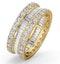 Eternity Ring Katie 18K Gold Diamond 3.00ct H/Si - image 1