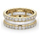 Eternity Ring Katie 18K Gold Diamond 3.00ct H/Si - image 3