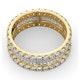 Eternity Ring Katie 18K Gold Diamond 3.00ct H/Si - image 4