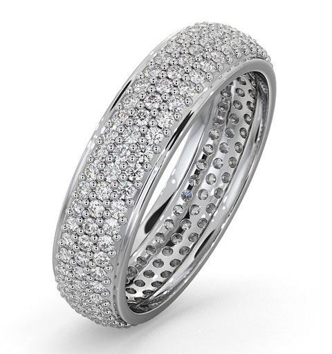 Eternity Ring Sara Platinum Diamond 1.00ct G/Vs - image 1