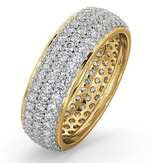 Eternity Ring Sara 18K Gold Diamond 2.00ct H/Si