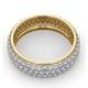 Mens 2ct H/Si Diamond 18K Gold Full Band Ring  IHG55-422JUA - image 4