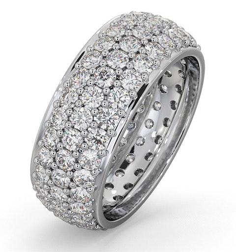 Eternity Ring Sara 18K White Gold Diamond 3.00ct H/Si - image 1